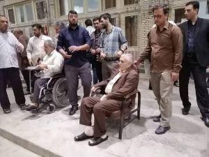 وداع با شهید سماواتی در مسجد ارک